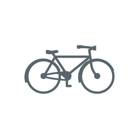 bike icon design, Vehicle bicycle cycle healthy lifestyle sport and leisure theme Vector illustration Illustration
