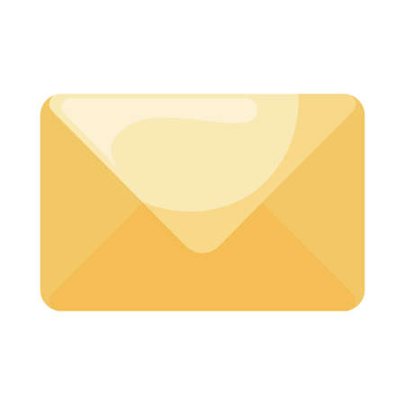 Envelope flat style icon design, Message email mail letter marketing communication card and document theme Vector illustration 矢量图像