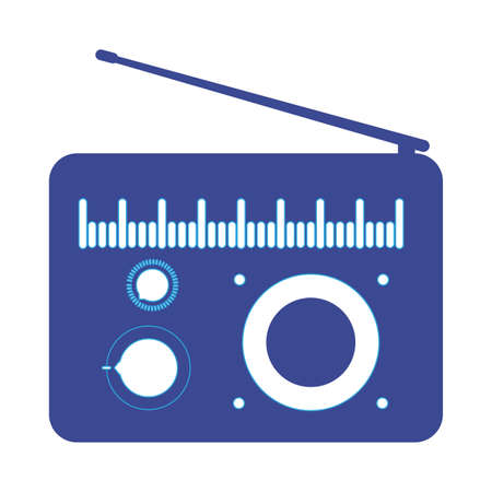 electronic devices for listening and producing music vector illustration design