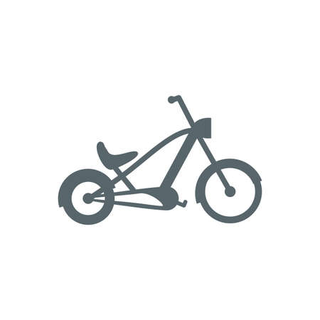 bike icon design, Vehicle bicycle cycle healthy lifestyle sport and leisure theme Vector illustration Stock Illustratie