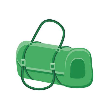gym bag on white background vector illustration design