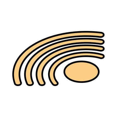 symbol in white background vector illustration design Illustration