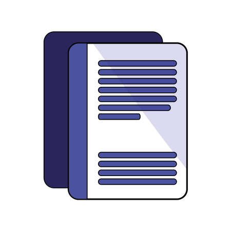 Document design, Data archive storage organize business office and information theme Vector illustration