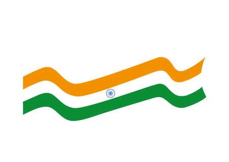 flag of india on white background vector illustration design 写真素材 - 150978353