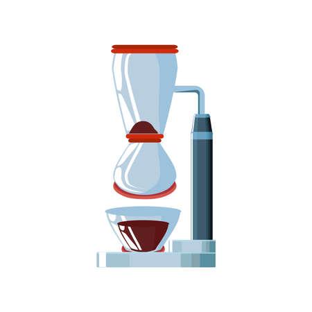 coffee appliance, drip brewed coffee vector illustration design vector illustration design