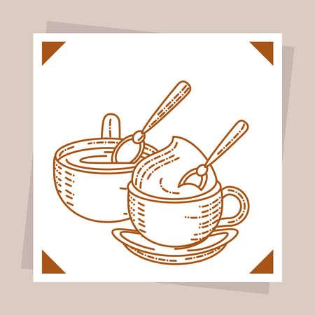 coffee capuccino latte fresh beverage