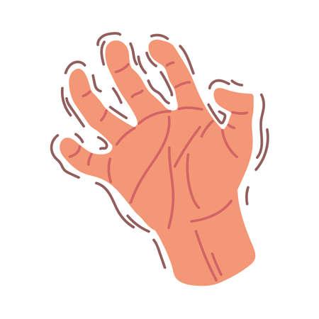 hand shaking symptoms parkinson disease