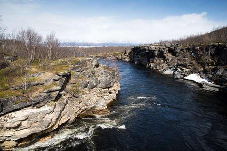 rift: mountain rift in Norway