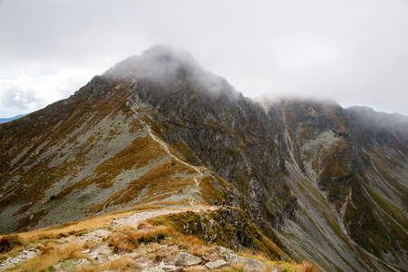 tatras: Ostry Rohac peak at Tatras Stock Photo