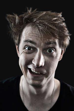 daft: crazy man portrait