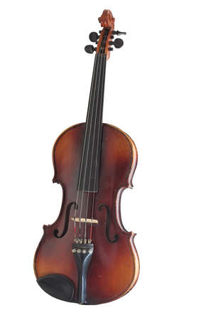 Violin isolated on a white background