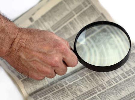 Magnifying Phonebook