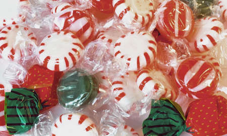 stuffer: Colorful wrapped candy good for background