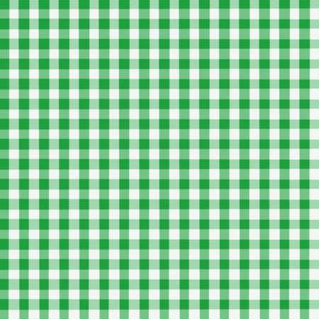 Green Gingham - Digitally created