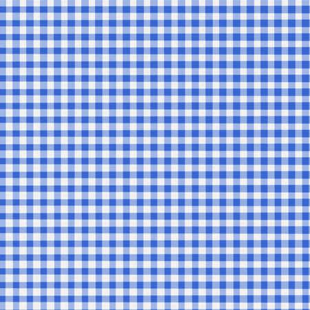 Blue and white gingham - slight fabric texture - digitally created. photo