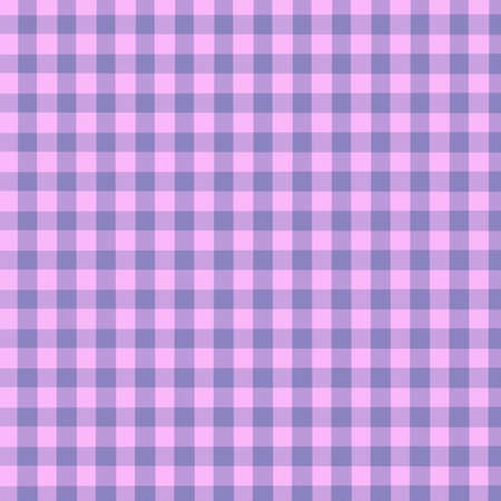 Purple and Pink Gingham Background slight texture - digitally created photo