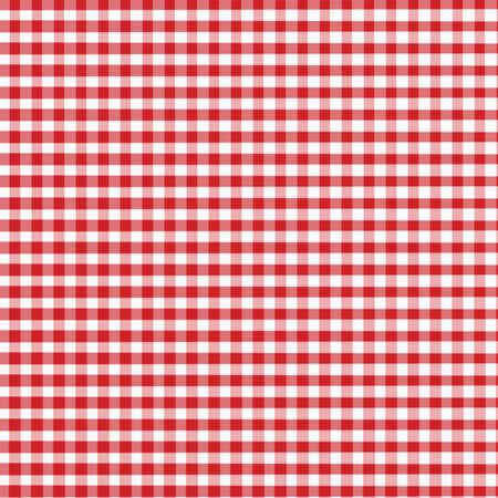 manteles: Rojo y blanco con ligeras Gingham tejido textrue - creado digitalmente
