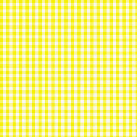 created: Yellow Gingham Fabric - digitally created