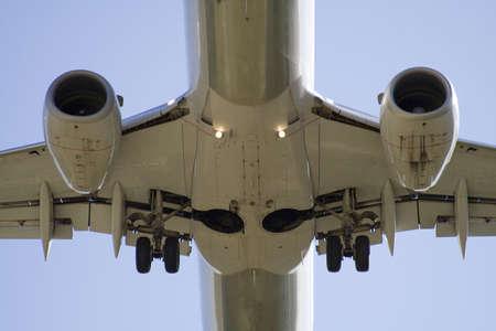 Niezwykle bliska w dużej części jest to jet malejącym do lądowania.