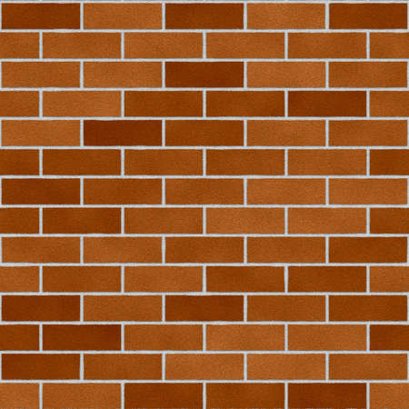 Seamless tile - brick wall - illustration - computer generated.  Background - Tile to the size desired. Stock Illustration - 463050