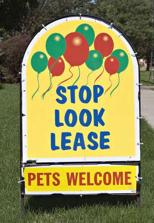 Lease a Home Reklamní fotografie