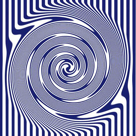 Navy Swirl photo