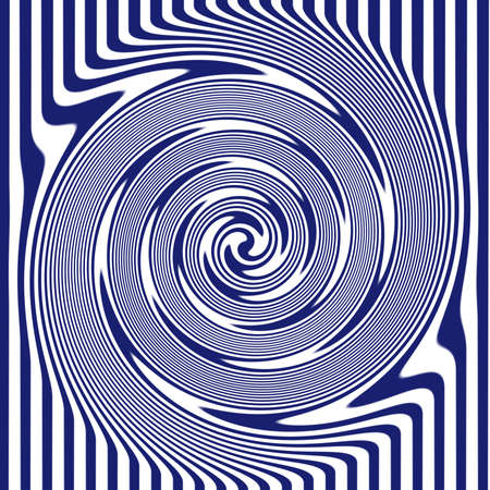 abstract art: Navy Swirl Stock Photo