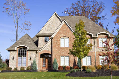 Beautiful residential home in the northern Ohio area. Stock Photo - 706914