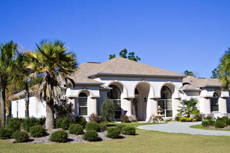 A beautiful home in Florida Stock Photo