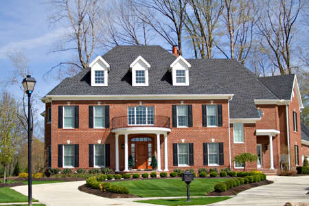 A very large and expensive home in Ohio. Stock Photo - 900561
