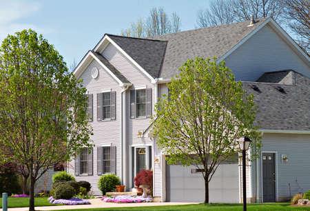 northeast ohio: A beautiful suburban home located in Northeast Ohio.