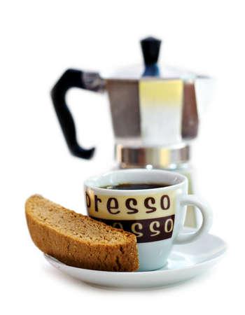 Een kopje espresso -- Stockfoto