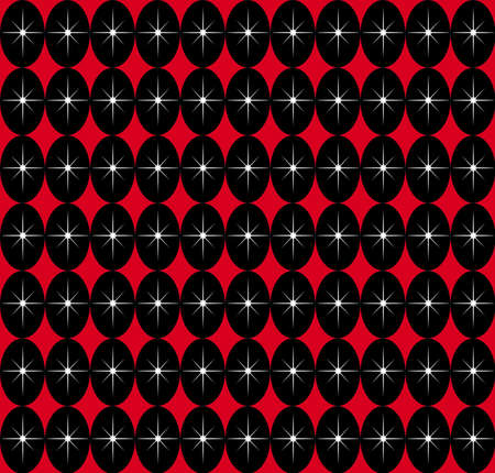 A retro SEAMLESS pattern typical of the 1950s modern style. Stok Fotoğraf