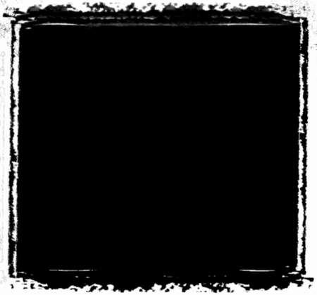 distressing: A grunge border frame for distressing and masking.