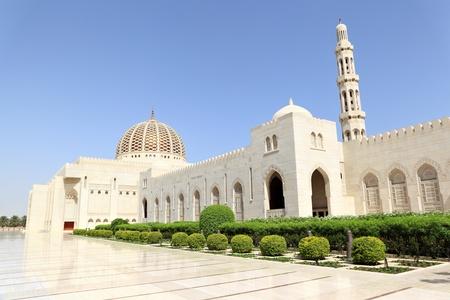 Sultan Qaboos Grand Mosque, Muscat  Oman  photo