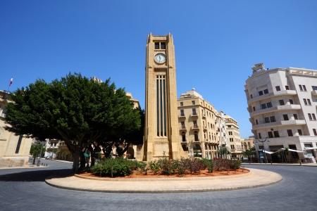 Downtown Beirut, Lebanon  wide angle view