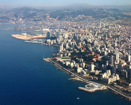 Beirut on the Mediterranean, Lebanon