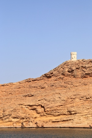 Sur traditional watchtower, Oman