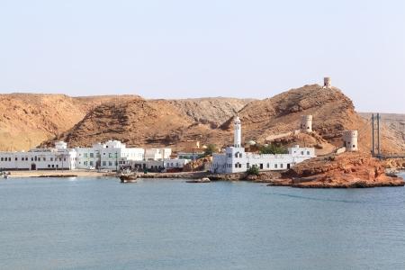 Sur coastline, Oman Stock Photo