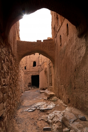 Old Al-Hamra Village Alleyway, Oman