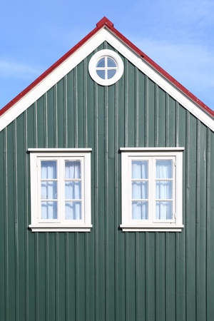 Iceland  traditional architectural style