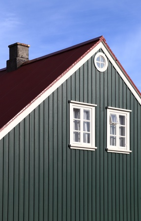 architectural style: Iceland  traditional architectural style