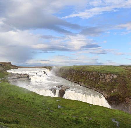 Gulfoss  Golden Falls , Iceland