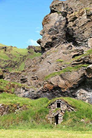 Traditional Icelandic Turf House
