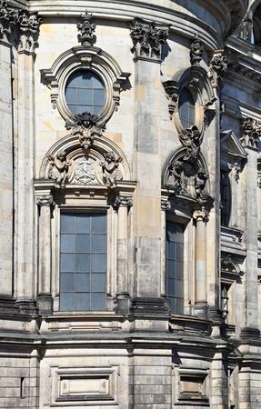 dom: Berliner Dom d�tails architecturaux, Allemagne Banque d'images