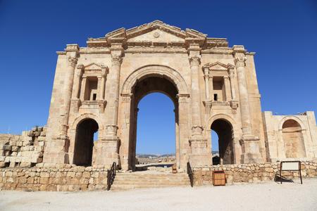 Arch of Hadrian, Jerash - Jordan