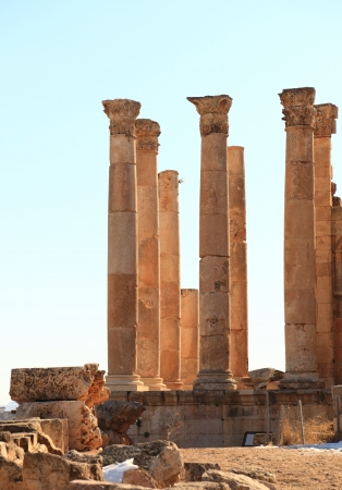 The Roman Ruins at Jerash, Jordan
