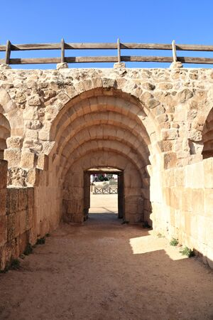 Entrance to the Hippodrome at Jerash
