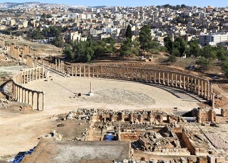 The Oval Forum, Jerash  Jordan