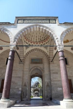 suleymaniye: Istanbul Suleymaniye Mosque Stock Photo